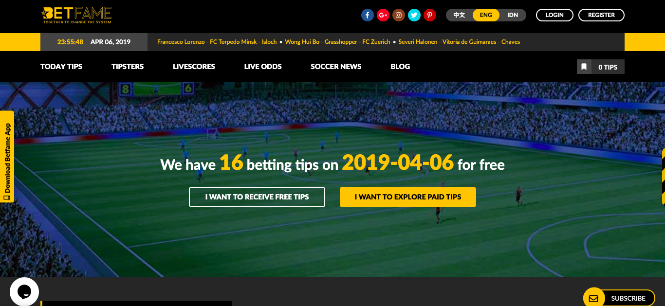 Betfame- Your Trustworthy Betting Guide